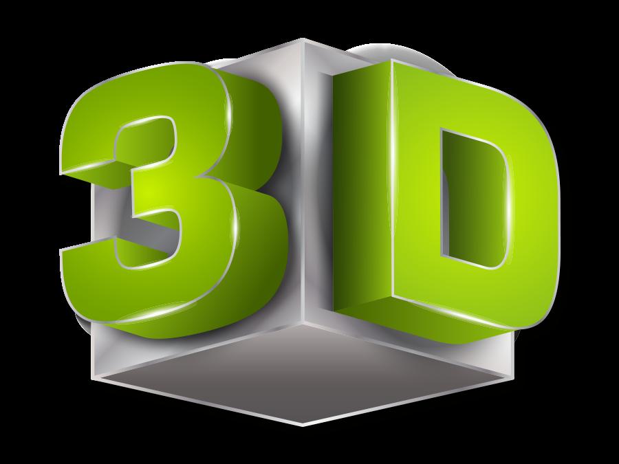 3D habbetű, embléma